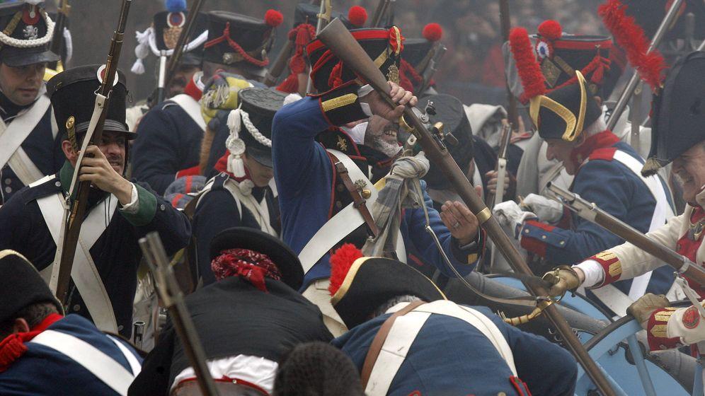Foto: Imagen de archivo de una recreación histórica del 2 de mayo en Madrid. (EFE)