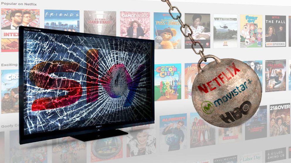 ¿Merece la pena Sky TV?  Su servicio frente a Netflix, HBO y Movistar+