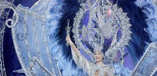 Post de Sara Cruz se corona reina en el Carnaval de Tenerife 2020 con la fantasía 'Sentir'