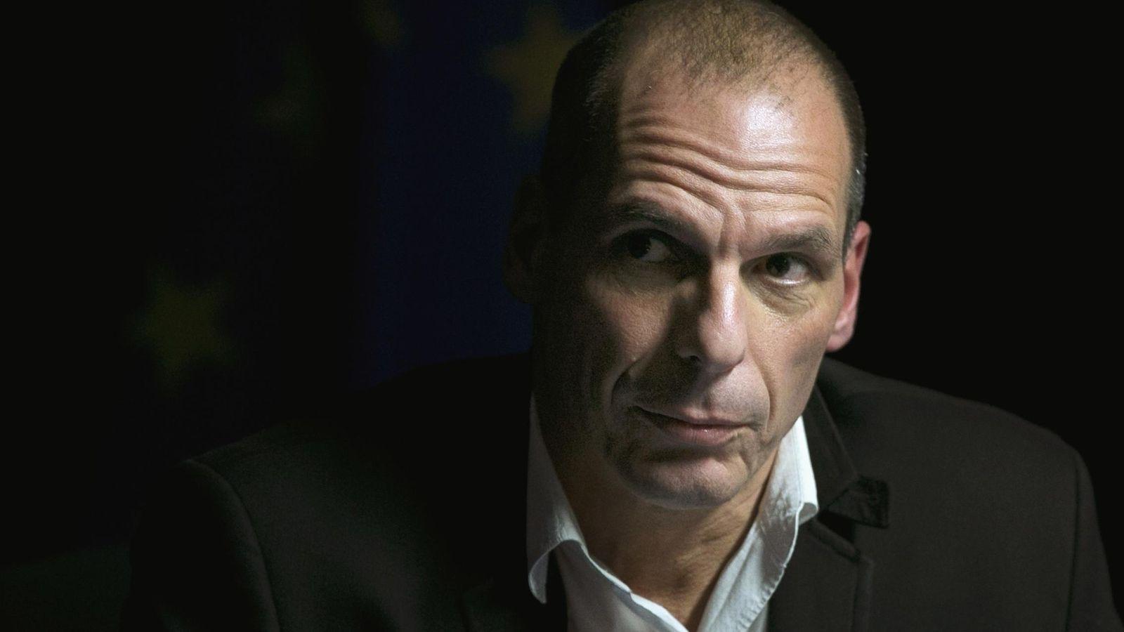 Foto: Varoufakis, ministro de Economía de Grecia.