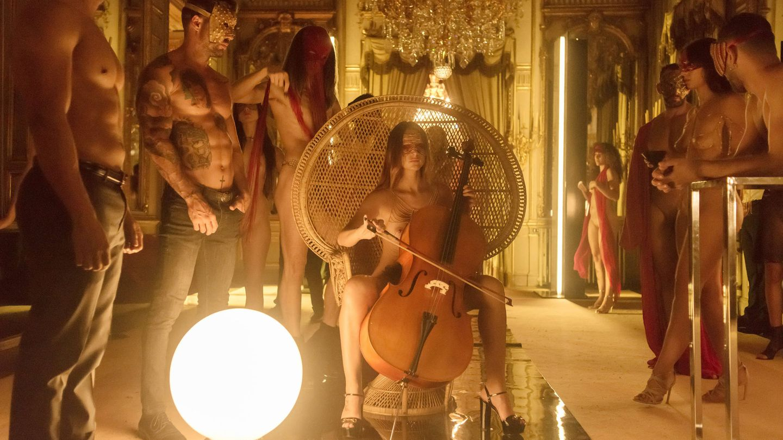 Club sexual de 'Instinto'. (Movistar )