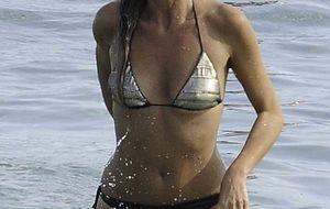 Natalia Álvarez, en Ibiza antes de pasar por los juzgados