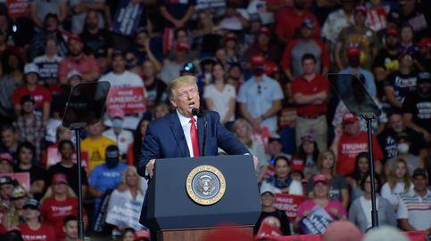 Trump critica el extremismo de los demócratas en su primer mitin en meses