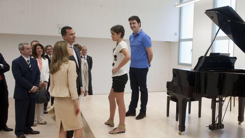 El día que Amaia de España conoció a Letizia de España