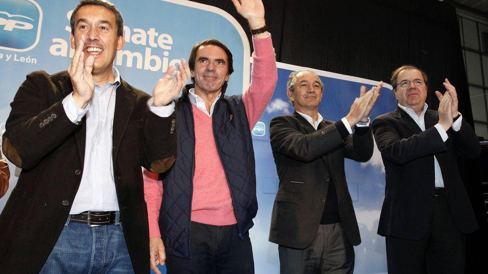 Aznar apoyará las campañas electorales de Sanz, Rudi y Herrera