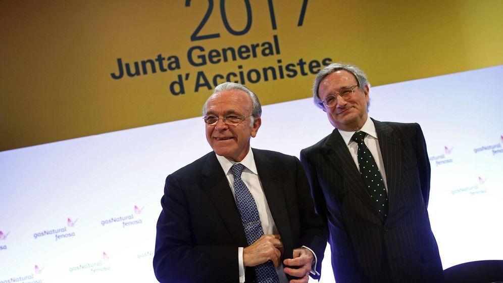 Foto: El presidente Gas Natural Fenosa, Isidro Fainé. (EFE)