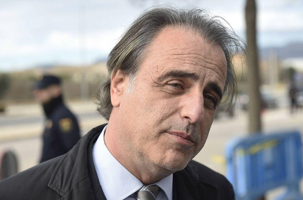 Foto: Pablo Molins durante el juicio del caso Nóos. (Gtres)