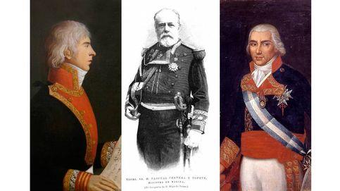 Los almirantes que pierden su calle en Palma por franquistas: lucharon en Trafalgar y Cuba
