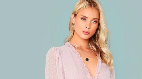 El vestido rosa, de mangas abullonadas y plumeti más romántico y bonito está en Shein