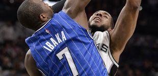 Post de Ibaka gana el duelo a Pau para cortar la racha de nueve victorias de los Spurs