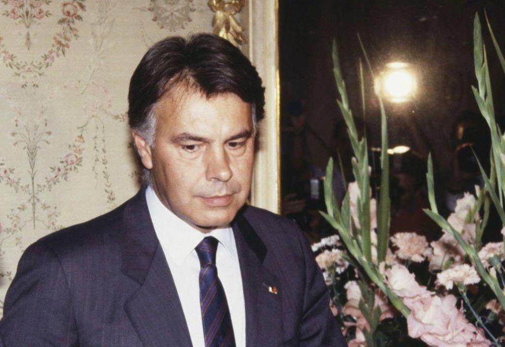 Foto: Felipe González, en el Palacio del Pardo en 1988, año de la huelga general.