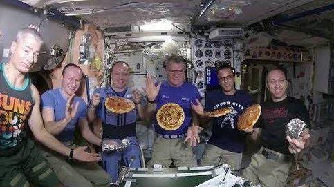 Así cocinaron seis astronautas una pizza en el espacio