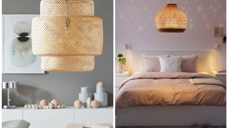 Lámparas de Ikea. (Cortesía)