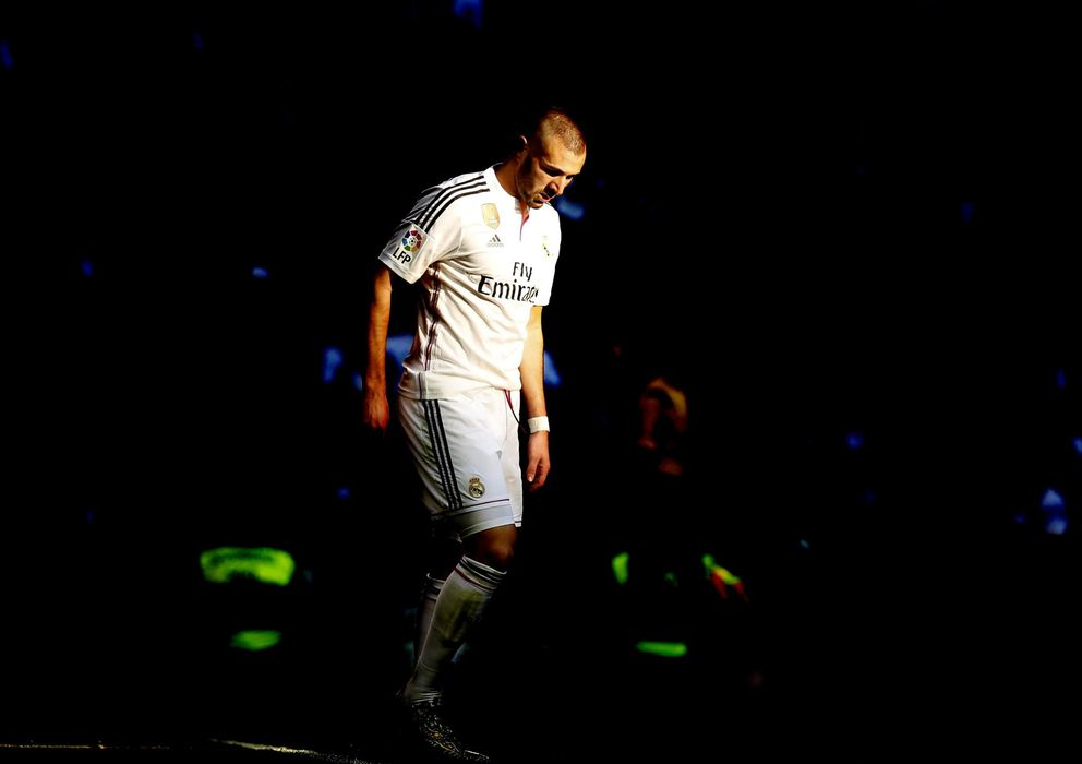 Foto: El delantero francés del Real Madrid, Karim Benzema.