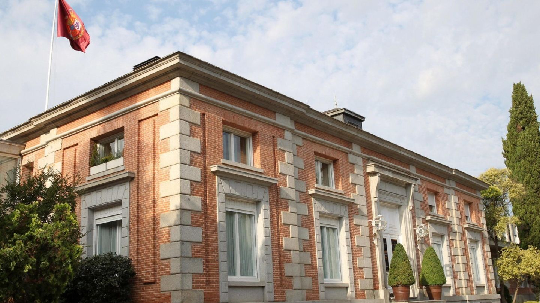 Vista general del palacio de la Zarzuela. (EFE)
