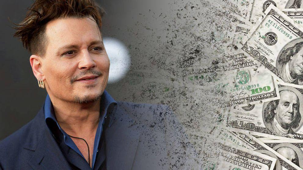 La (anunciada) ruina de Johnny Depp, paso a paso: así malgasta el actor su dinero