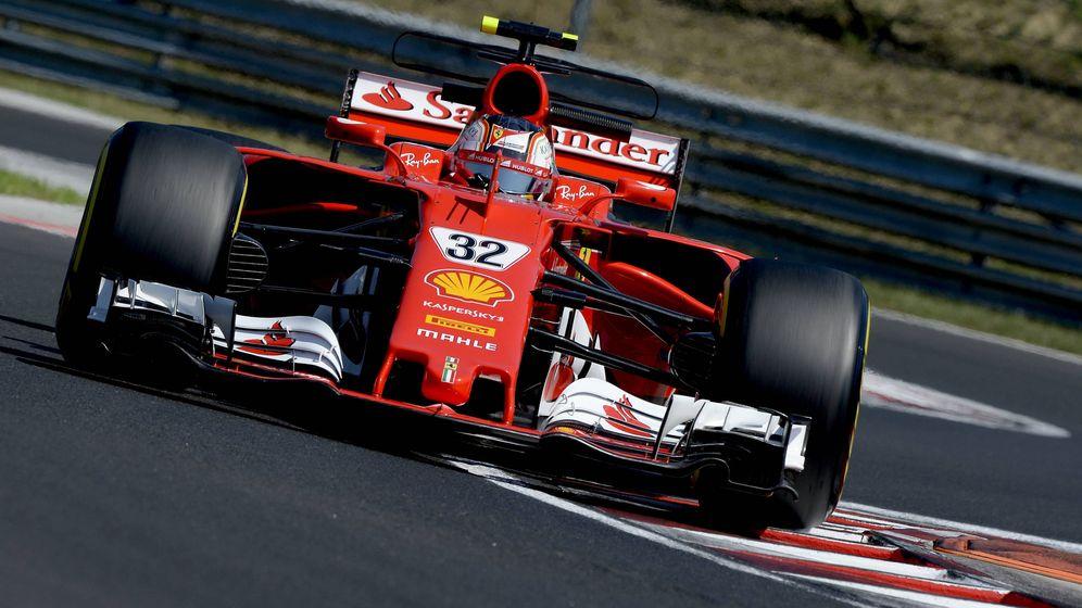 Foto: Charles Leclerc impresionó en los test de temporada en el circuito de Hungaroring. (Ferrari)