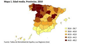 Foto: La edad media de los españoles se dispara y se acerca ya a los 43 años