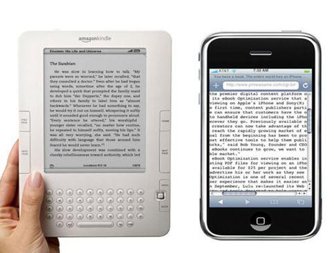 Acabaremos leyendo libros en el móvil