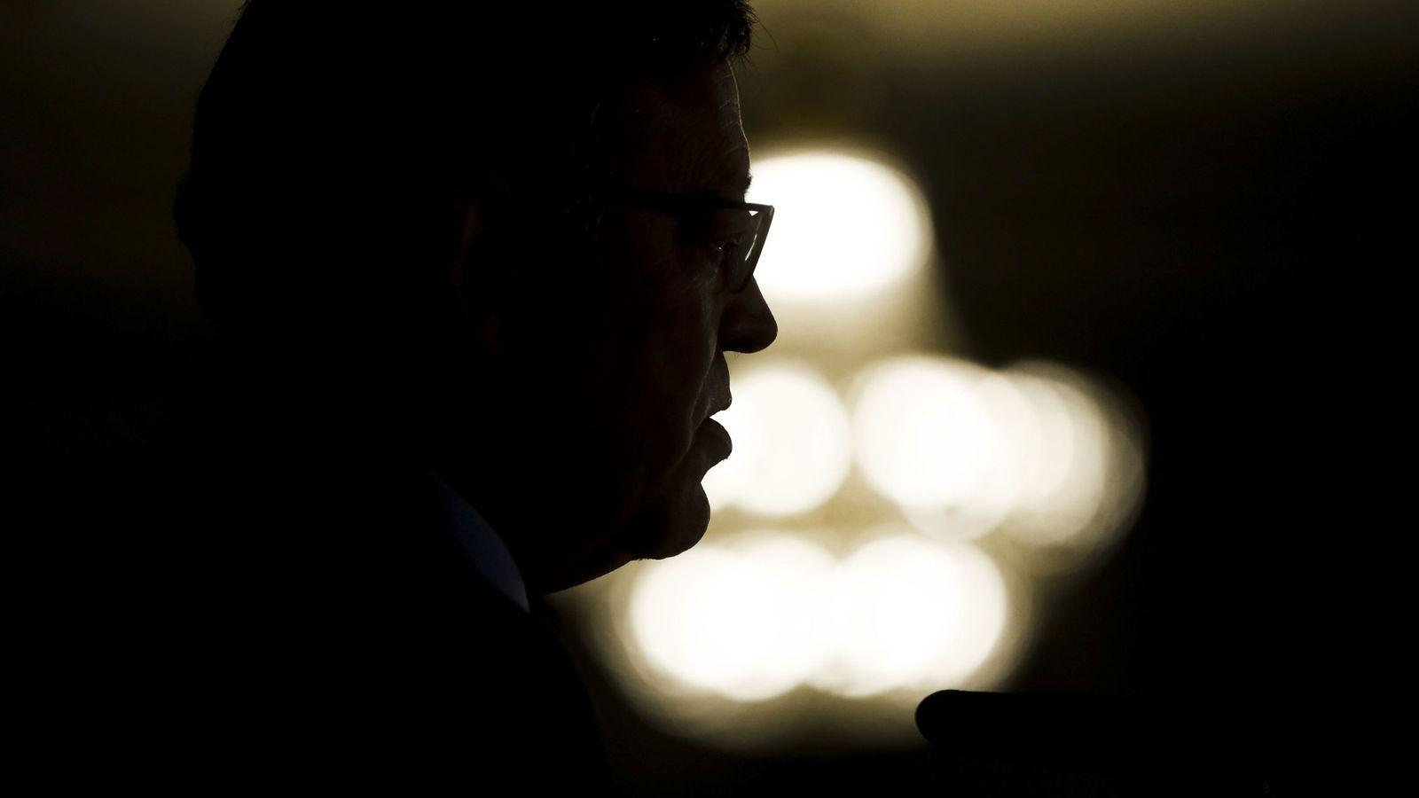 Foto: Ximo Puig, durante el desayuno informativo de Europa Press en el hotel Westin Palace de Madrid, este 22 de noviembre. (EFE)