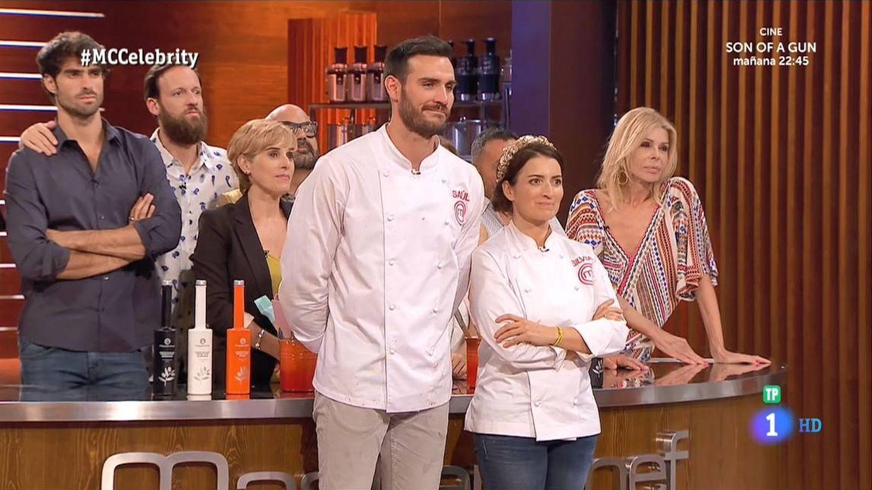 Los concursantes de 'MasterChef Celebrity 2' en la gran final. (RTVE)