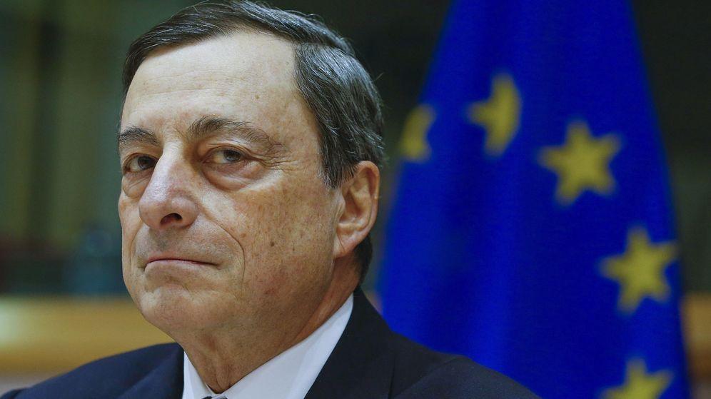 Foto: El presidente del BCE, Mario Draghi, en una comparecencia en el Parlamento Europeo./REUTERS