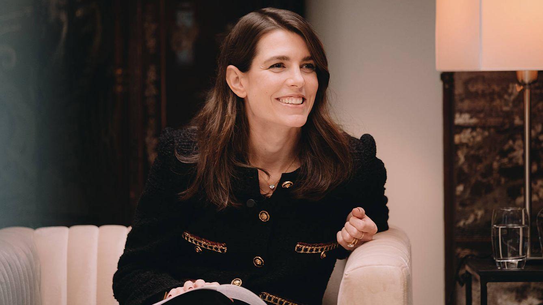 Carlota Casiraghi, toda una Oprah en el encuentro literario de Chanel