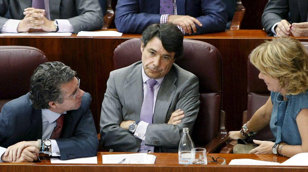 Foto: Fotografía de archivo de Ignacio González (d) y Francisco Granados. (EFE)