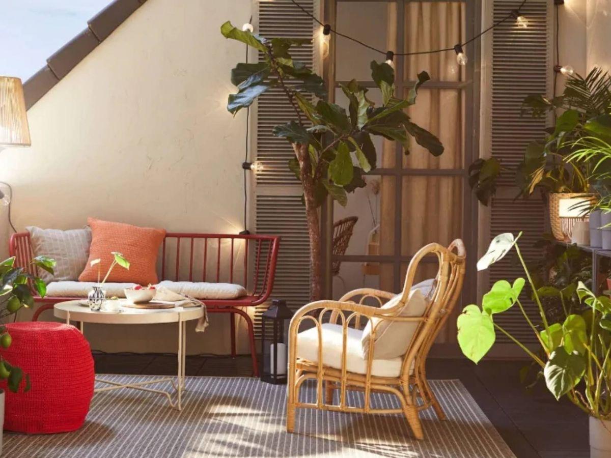 Foto: Ikea nos inspira para redecorar nuestro balcón. (Cortesía)