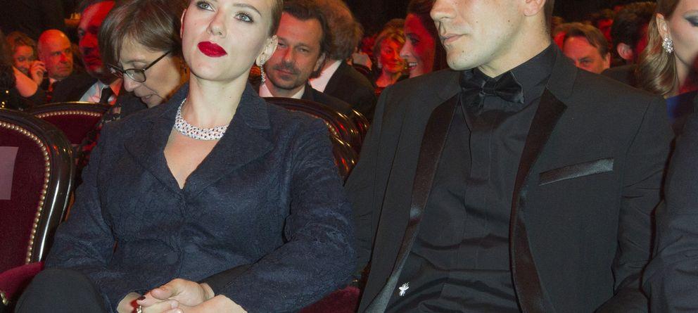 Foto: Scarlett Johansson y Romain Dauriac (Gtres)