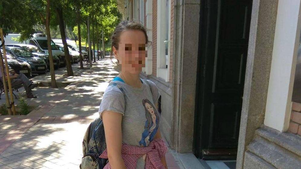 Foto: Fotografía reciente de Alenka Yumara, la alemana de 15 años que ha sido localizada en Granada. (Foto enviada por la familia a El Confidencial)