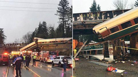 Al menos 6 muertos al descarrilar sobre una autopista un Talgo español en EEUU