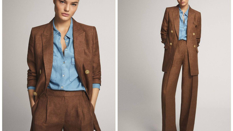 Nuevo traje de chaqueta de Massimo Dutti. (Cortesía)