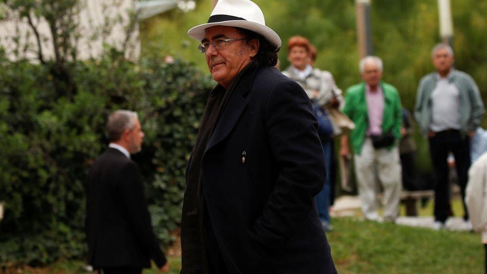 Foto: Al Bano durante el funeral de Montserrat Caballé. (Reuters)