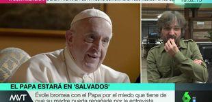 Post de Jordi Évole, tras su encuentro con el Papa Francisco: