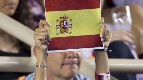 Eva Longoria, la más española en el Torneo de Tenis de Acapulco