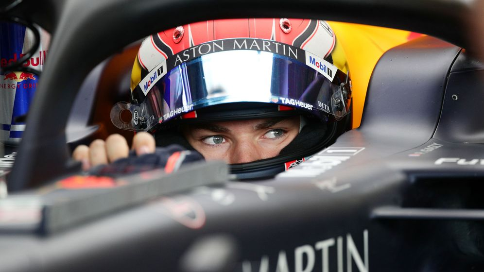 Foto: Pierre Gasly en su Red Bull. (Reuters)