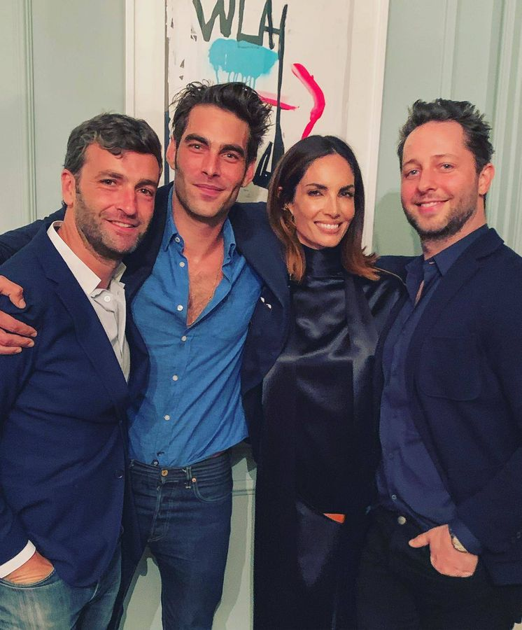 Foto: Ferrán Ribó, Jon Kortajarena, Eugenia Silva y Derek Blasberg. (Vanitatis)