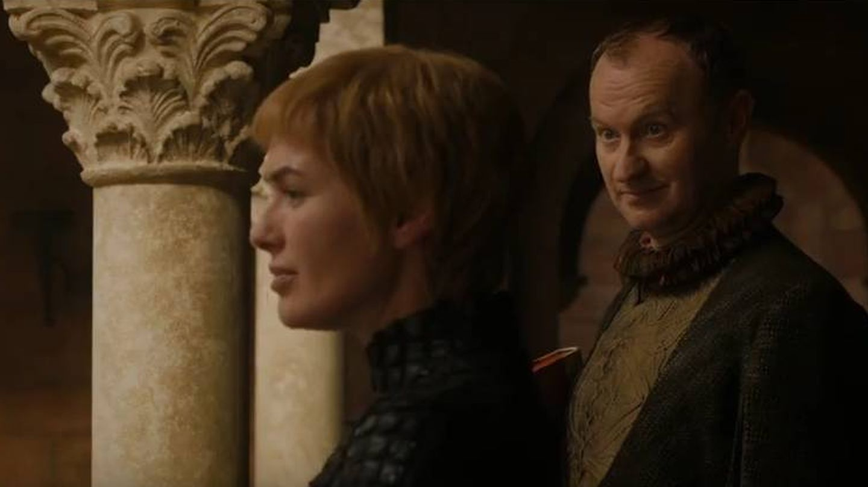 Imagen del cuarto capítulo de la séptima temporada con Cersei y el representante del Banco de Hierro