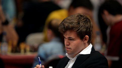 ¿Qué hacía Carlsen jugando con 'estafadores del ajedrez' en un parque?