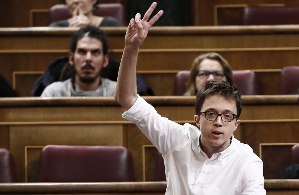 Foto: Íñigo Errejón en el Congreso de los Diputados. (EFE)