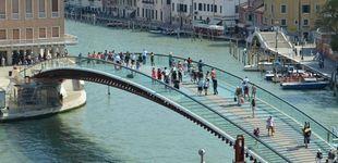 Post de Santiago Calatrava, condenado a pagar 78.000 euros por el puente de Venecia