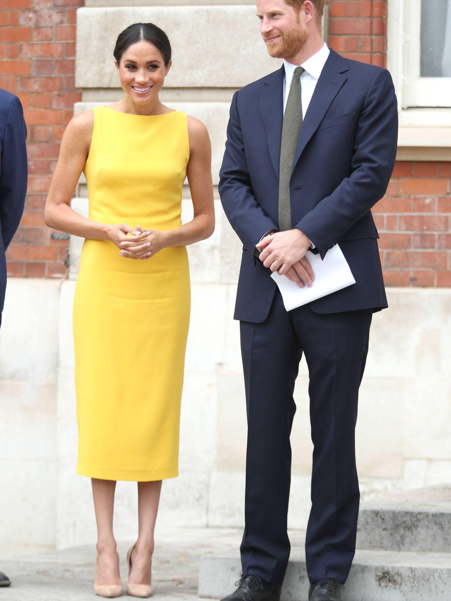 El príncipe Harry y Meghan Markle. (Getty Images)