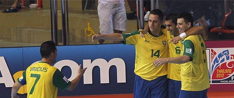 España cae de la manera más cruel ante Brasil en el Mundial de Tailandia