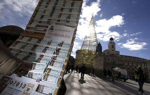 Los españoles retan a la mala suerte: prefieren comprar la terminación '13'