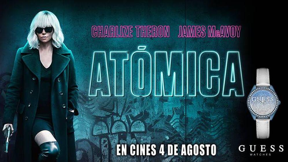 Foto: Cartel de Atómica, la nueva película protagonizada por Charlize Theron