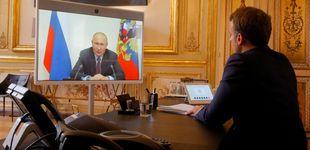 Post de Macron pide a Putin aclarar el