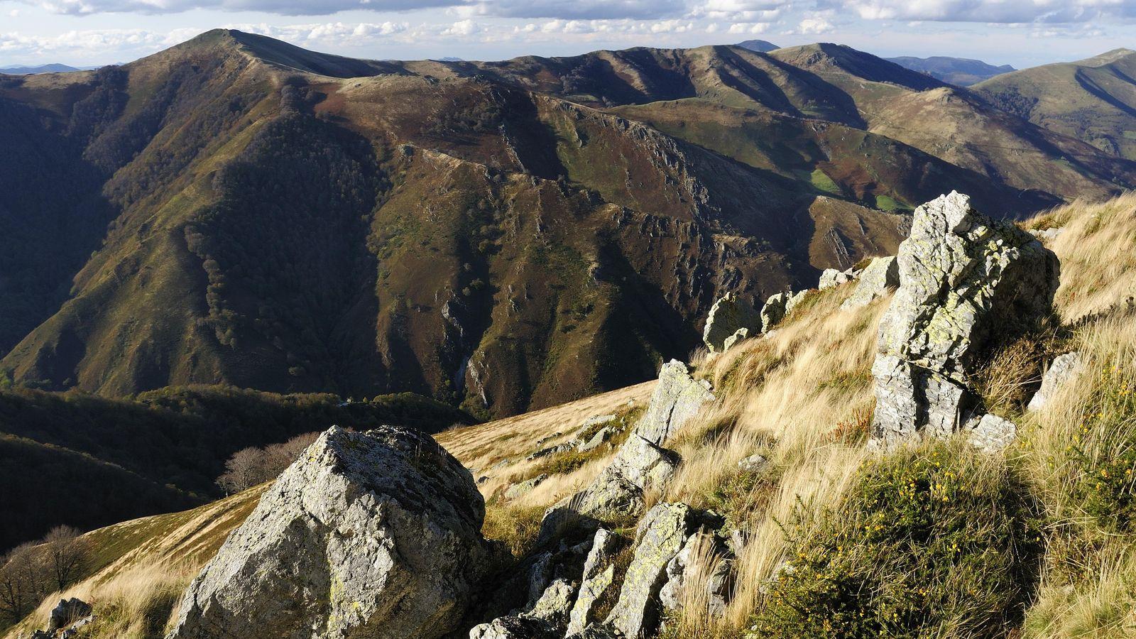 Foto: Riscos cerca de Roncesvalles donde probablemente tuvo lugar dicha batalla. (Corbis)