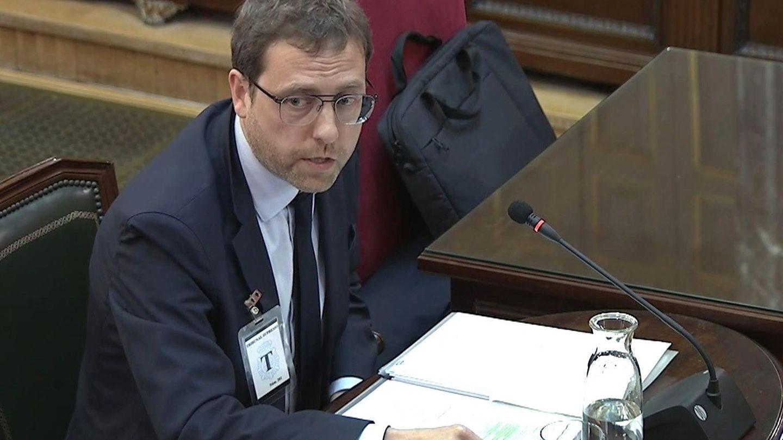 Albert Royo, ex secretario general del Diplocat, declara como testigo en el Supremo en marzo. (EFE)