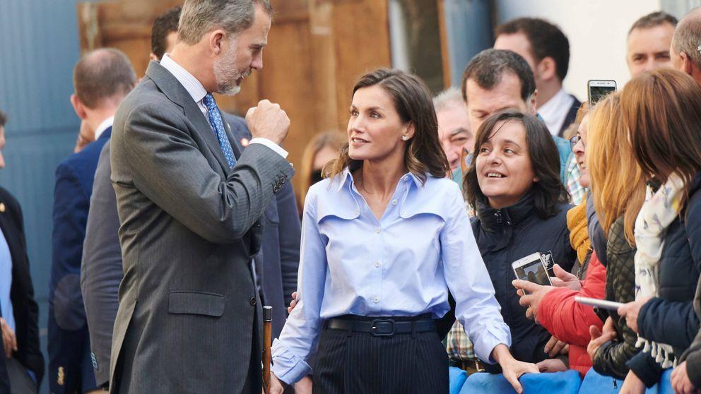 El día que Letizia fue todo sonrisas para Felipe (y en el que se mascaba la tensión)